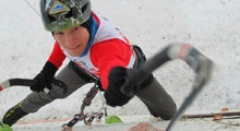 Engineer from Tyumen won the bronze medal of the ice climbing world championship