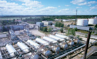 Tank farm West-Surgut. Central processing facility